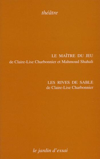 """couverture du livre """" Le maître du jeu"""""""
