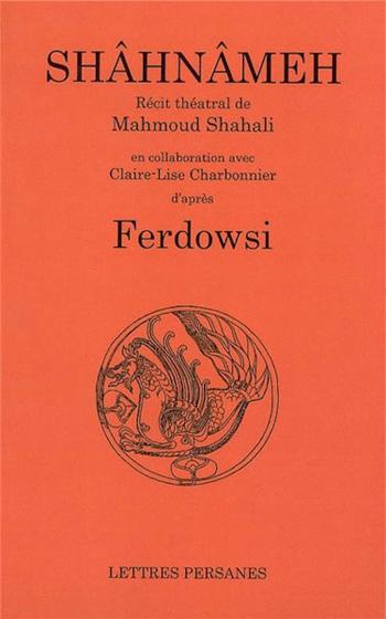 couverture du livre du Shâhnâmeh